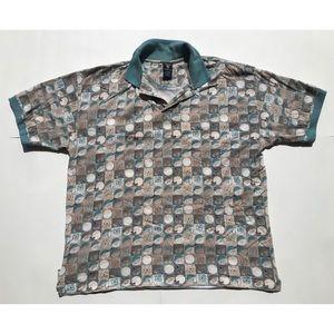 Vintage 1996 Looney Tunes Taz Golf Shirt